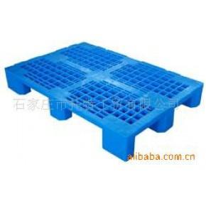 塑料托盘 四面进叉 平板川字型