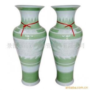 F-0047景德镇大花瓶 陶瓷 影青瓷