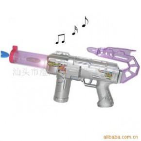 电动音乐飞碟枪,玩具枪,音乐枪,EVA子弹枪