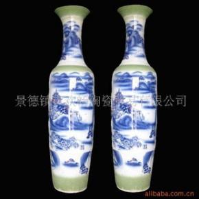 DHP-081 景德镇青花仿古花瓶大花瓶装饰花瓶
