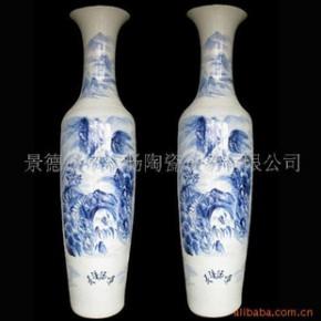 DHP-082 景德镇青花仿古花瓶大花瓶装饰花瓶