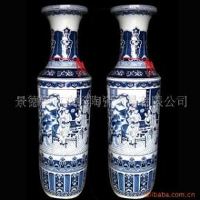 DHP-088 景德镇青花仿古花瓶大花瓶装饰花瓶