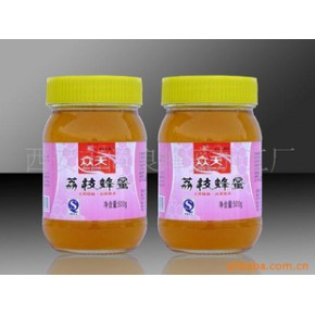 500g纯天然荔枝蜂蜜 众天