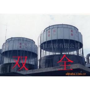 高温圆型逆流式冷却塔 逆流式冷却塔