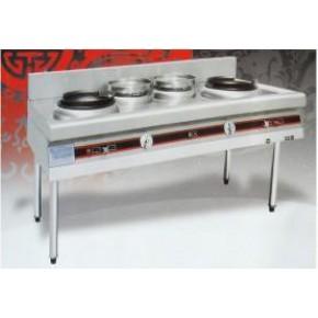 点击查看 兰州厨房设备厂 顺洁蒸饭车 双头大锅灶零售