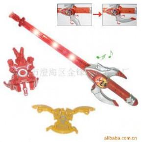 变形系列剑,玩具剑,发音剑,变形金碟