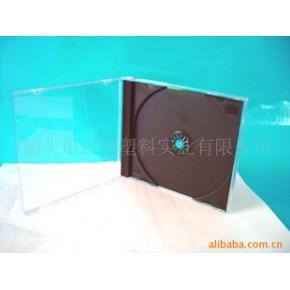 透明黑底CD盒、CD包装盒