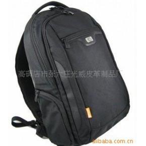 09新款全黑色惠普双背电脑包