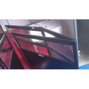 折叠货架折叠柜台折叠展柜专业定制厂商选昆明金聚展柜厂