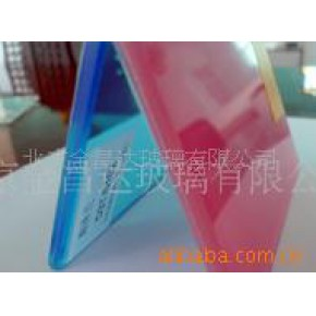 3+0.38+3彩色夹胶玻璃
