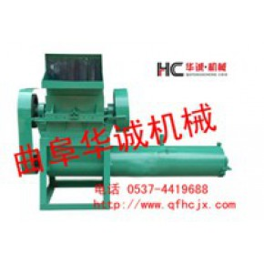 废塑料颗粒机辅助设备 清洗破碎机设备 曲阜华诚机械