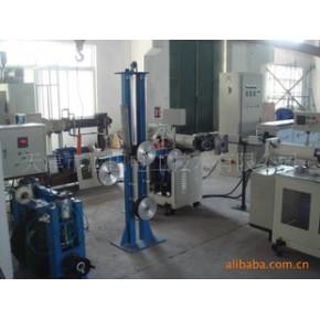 硅胶电线、钢丝线挤出硫化生产线
