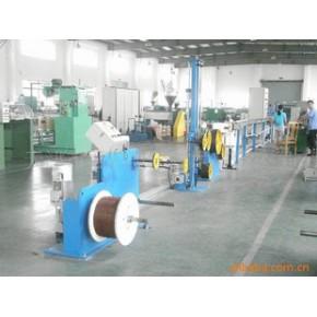 硅胶纤维管、玻纤管挤出硫化生产线