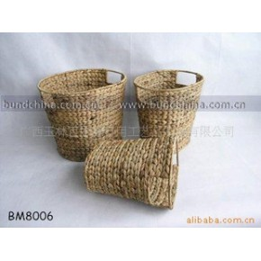 水葫芦编织篮/编织工艺品/收纳篮/洗衣篮