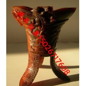 杭州犀角鉴定,杭州犀角鉴定中心,杭州犀牛角雕件拍卖公司