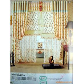 家居窗帘布艺帘 半透明型