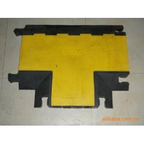 橡胶马道四槽三通/橡胶板