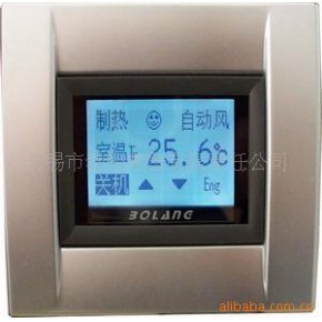 网络型触控液晶温控面板 勃朗
