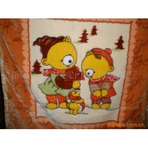 儿童毛毯 涤纶 顺毛型