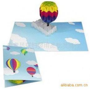 批发供应立体贺卡系列 立体贺卡(气球)