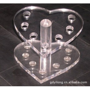 有机玻璃(亚力克)笔架 有机玻璃