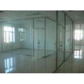 海淀区安装玻璃隔断中关村安装办公室玻璃隔断