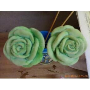 吸香水(可变色)石膏玫瑰花香董工艺品
