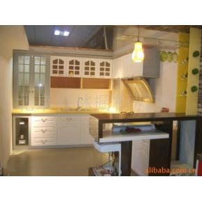厨房橱柜 整体橱柜 不锈钢
