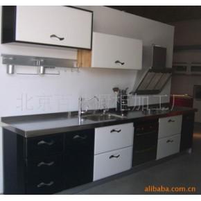 厨房橱柜橱柜壁橱 不锈钢