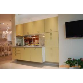 厨房橱柜;整体橱柜 壁橱橱柜