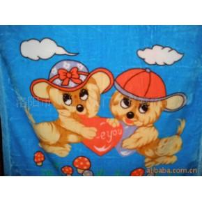 批量加工各种规格的儿童毛毯