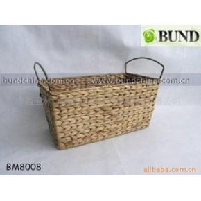 水葫芦编织篮/脏衣篮/储物篮/收纳篮/编织工艺品