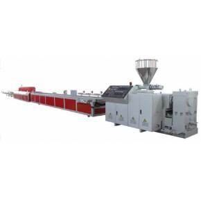 金纬PE、PP和PVC木塑(WPC)型材地板挤出生产线