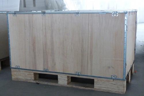 钢带插片式木箱无钉木箱卡扣木箱木包装箱出口木箱免