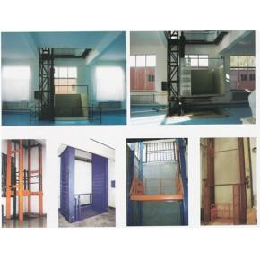 导轨链条式液压升降平台、壁挂式液压升降机、鑫泰升降台、液压升降货梯、货物升降机