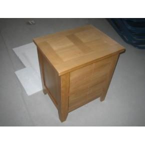 纯实木床头柜 青岛实木床头柜 床头柜价格 青岛沃森特家具生产