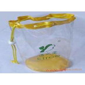 丝网印刷透明PVC袋化妆品袋