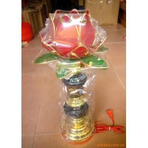 佛教工艺品,莲花灯 复合材料