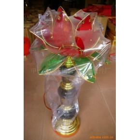 佛教台灯,莲花灯 复合材料