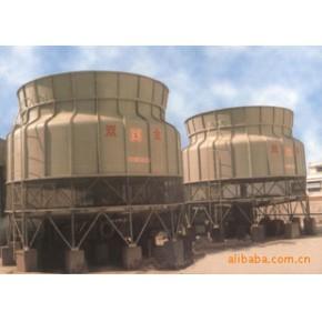 圆形逆流式低噪声BND-300T玻璃钢冷却塔
