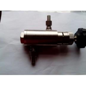 GF8可调式螺纹槽道减压阀