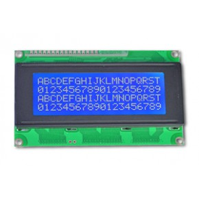 LCM204-1 蓝底白字 字符显示模块可串口