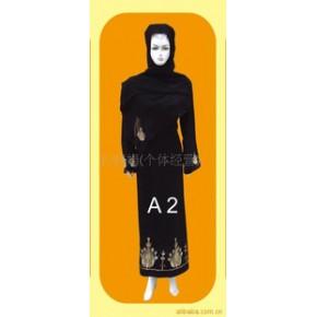 穆斯林礼拜服、穆斯林黑袍、回族服装