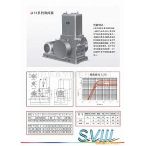 真空泵-H系列滑阀泵 .(Mpa)