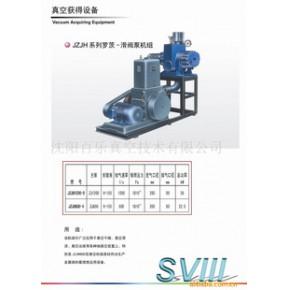 真空泵JZJH系列罗茨-滑阀泵