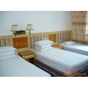 宾馆酒店用床上用品*[平纹]*三件套