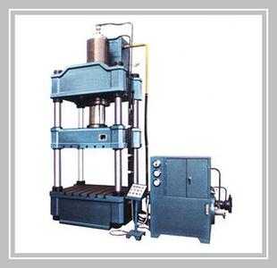 四柱液压机 四柱式框架液压机图片