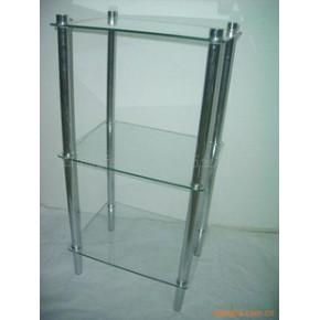 长方形玻璃层架 其他 几何形
