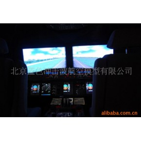 飞行模拟器 金属、玻璃钢