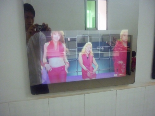 镜面防水电视